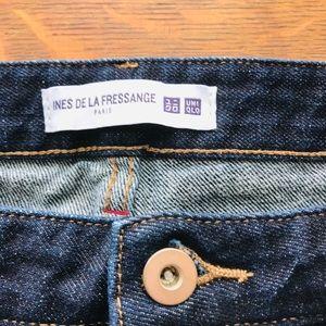 Uni Qlo Ines de la fressange Paris jeans